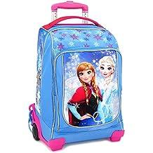 a26c4701e9 Zaino Trolley Scuola Disney Frozen Elsa e Anna