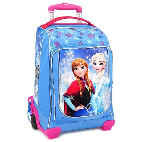 Zaino trolley scuola disney frozen elsa e anna