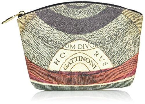 Gattinoni Gacpu0000144, Pochette da Giorno Donna, 6x15x21 cm (W x H x L) Multicolore (Classico)