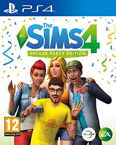 The Sims 4 Deluxe Party Edition (PS4) (New) (Sims Party)
