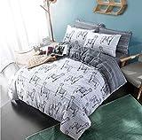 LnB Lamas Multi 50% Polyester 50% Baumwolle Bedrucktes Bettwäsche-Set/Bettbezug (Double)