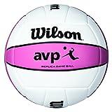 Best Beach Volleyballs - Wilson AVP Replica Pink Beach Volleyball - Pink Review