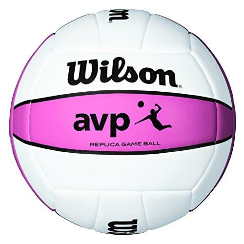 Wilson AVP - Bola, color blanco / rosa, talla única