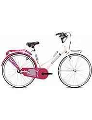 "Bicicleta Magnum Mod Holanda 26"", Unisex adulto, Crema / Fragola"