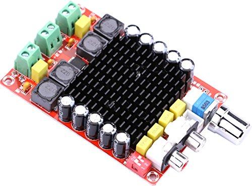 Yeeco Stereo 2x100W Numérique Double Canal Power Amp Module DC 24V Class Audio Conseil Amplificateur D pour Véhicules 4Ω 6Ω 8Ω Subwoofer Sound System Président Car Home Theater
