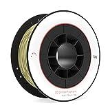 BQ F000106 - Filamento PLA 1.75 mm (100% PLA, resistente a la acetona, rápido endurecimiento) color glitter gold