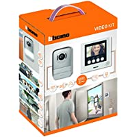 """BTicino 316913 Kit Videocitofono 2 Fili, 3,5"""", Mono/Bifamiliare, Bianco"""