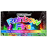 CrazyGadget® (Pack of 3) 3X Rainbow Fire Magic Fire Coloured Flames Bonfire Colour Changing Fire For Log Burner