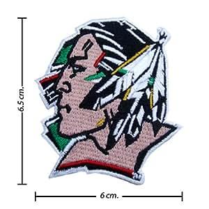 Ecusson brodé North Dakota Fighting Sioux Logo Emblem patche Patches