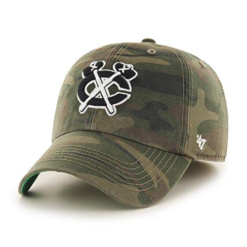 NHL Chicago Blackhawks Harlan Franchise ausgestattet Hat, mittel, Sandelholz