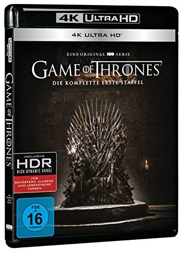 Game of Thrones - Staffel 1 (4 Blu-rays 4K Ultra HD)