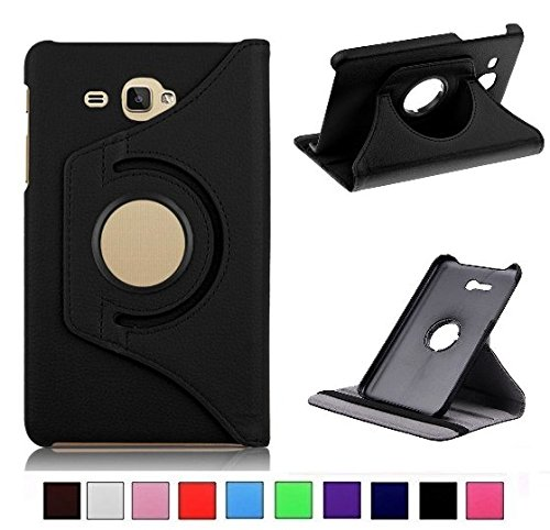 MOCA 4397793 Flip Cover for Samsung Galaxy Tab J Max/Tab 7.0 inch T285/T280  Black