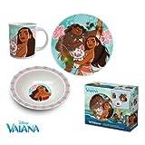 Vaiana - Set desayuno 3pcs (Suncity VAA102227)