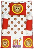 Beebop Bed Sets, 4 Piece - Lion (Red)