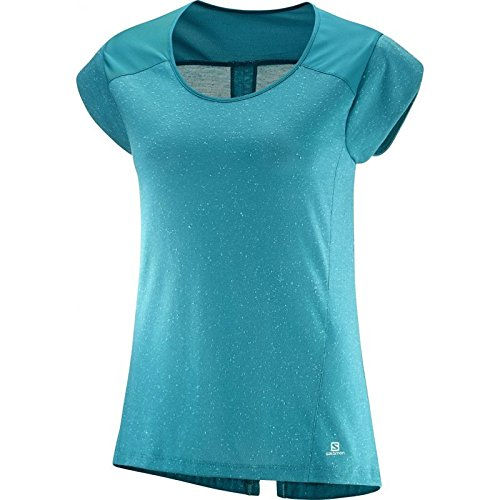Salomon Let the Sun Shine W T-shirt, femmes Enamel Blue