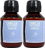 Set di due bottiglie di olio di Camelia 100 ml ciascuno bottiglia . Trasporto veloce dalla Spagna