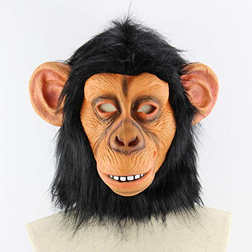 fen Maske Halloween lustige Perücke Kind tiermaske ()