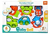 #10: Attractive Colourful Rattles for Babies (Non Toxic, Friendly)