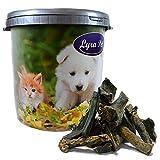 Lyra Pet 10 kg Rinderleber Kausnack Hundefutter fettarm getrocknet in 30 L Tonne