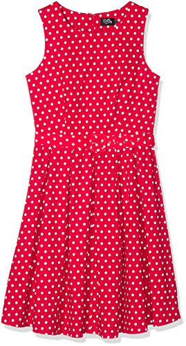 Dolly and Dotty Lola, Abbigliamento Casual Donna, Rot (Red Ah), 52