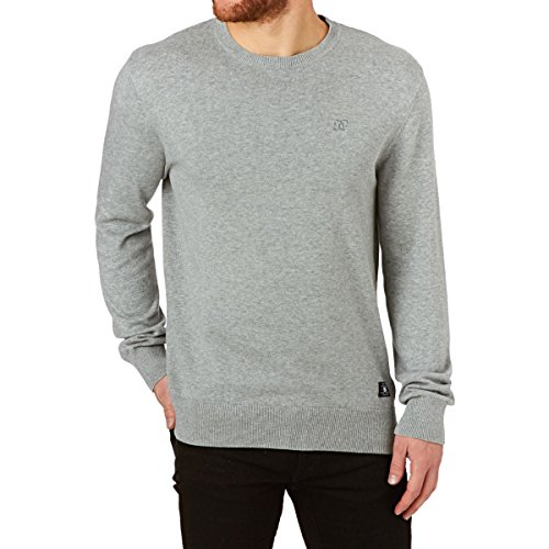 DC jumpers – DC Sabotage Jumper – Heather Grey Multicolore