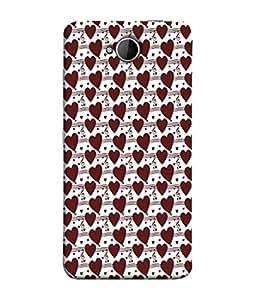Fuson Designer Back Case Cover for Microsoft Lumia 650 :: Microsoft Lumia 650 Dual SIM (Love Heart Lines Music Melody )