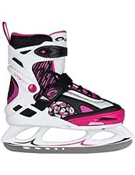 SPOKEY® INVERNO Patines de hielo | Mujeres | Niños Cuchillas de hockey | Acero inoxidable | Tamaño ajustable | 33-37 | 37-41, Color:rosa;Spokey Größen:37-41