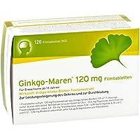 Ginkgo Maren 120 mg Filmtabletten 120 stk
