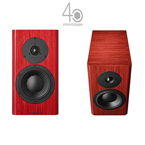 Dynaudio Special Forty Red Pair Speakers by Library New