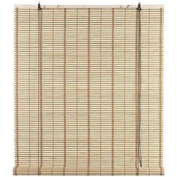 Tapparella Avvolgibile bamb/ù Marrone 80 x 160 cm Festnight Tenda Bamboo Tende a Rullo