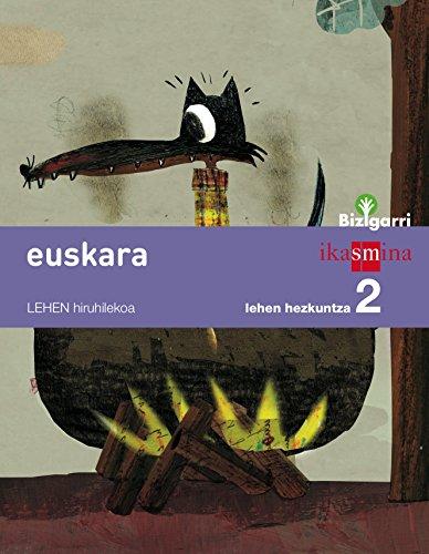 Portada del libro Euskara. Lehen Hezkuntza 2. Bizigarri - 9788498553536