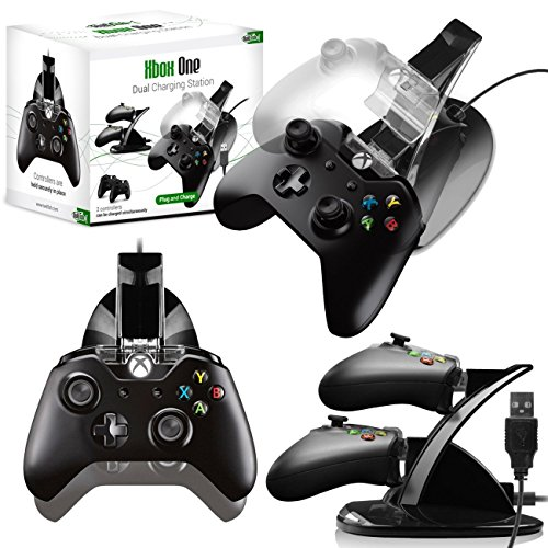 twitfishr-dual-charging-station-per-xbox-one-nero-con-finiture-cromate