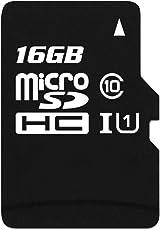 Vemont MicroSD TF Scheda micro Scheda di memoria Flash Card 8G 16G 32G 64G per Tablet Smartphone per fotocamera portatile per microfono (16G)