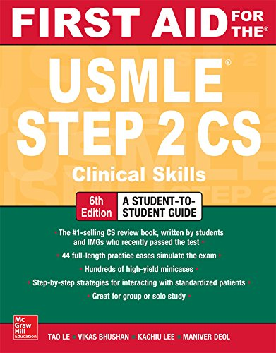 First Aid for the USMLE Step 2 CS, Sixth Edition (English Edition) -