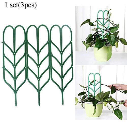 FURU Blumentopf-Gitter/Unterstützung Kunststoff Kletterpflanzen, Pflanzenstütze (Panel Garten Trellis)