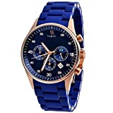 Style Feathers Analogue Blue Dial Men's ...