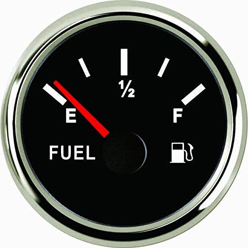 Universal Öl-Fuel Level Gauge Meter 240–33OHM 52mm mit Hintergrundbeleuchtung 9–32V