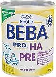 Nestlé BEBA PRO HA PRE Hypoallergene Säuglings-Anfangsnahrung, von Geburt an, 1er Pack (1 x 800 g)