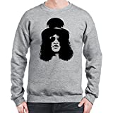 Sweatshirt para hombre con la impresión del Rock Slash Guns n Roses Silhouette .