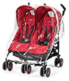 Peg Perego ypmtastreg Protection Pluie Poussette Pliko Mini Twin, Aria Shopper