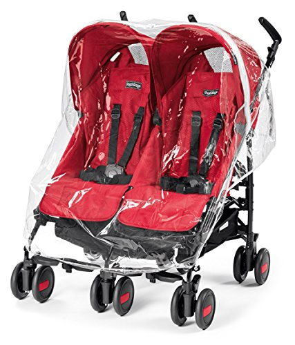 Peg Perego ypmtastreg Protection Pluie Poussette Pliko Mini Twin, Aria Shopper