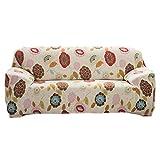 Elastisch Stretch Sofabezüge Für Einzel / 3-Sitzer Couch - Sonnenblume , 190-230cm