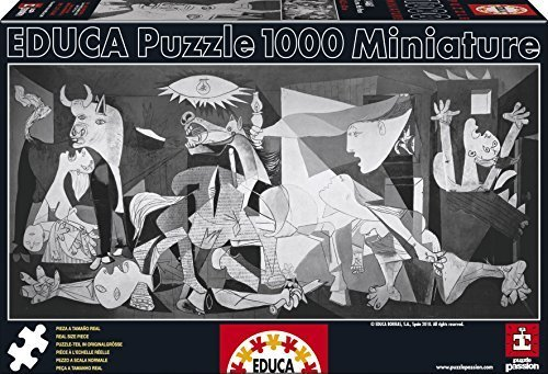 Educa Borras Puzzle Guernica Pablo Picasso Miniature (1000 Pieces) by Educa Borras