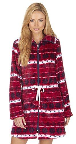 Varsani Clothing - Robe de chambre - Femme red