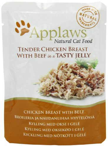 Applaws Cat pouch tuna wholemeat with mackerel in jelly, Beutel, 1er Pack (1 x 1.12 kg) Preisvergleich