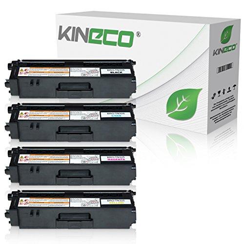 kineco-pack-de-4-cartouches-de-toner-compatible-avec-brother-tn325-hc-noir-cyan-magenta-jaune-dcp-90