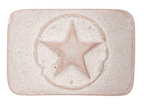 UMJUBELT Gürtelschließe FLORIDA STAR rosé white Rose Gürtelschnalle