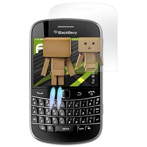atFolix Displayfolie kompatibel mit BlackBerry Bold 9930 Spiegelfolie, Spiegeleffekt FX Schutzfolie Blackberry Bold Screen Protector