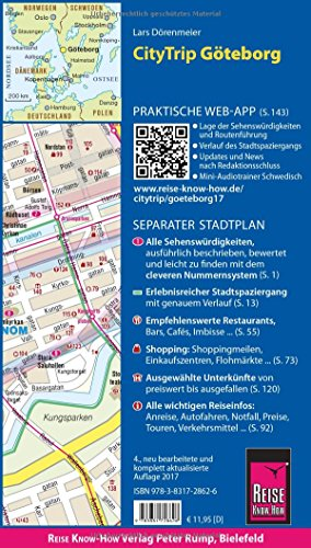 Reise Know-How CityTrip Göteborg: Reiseführer mit Faltplan und kostenloser Web-App: Alle Infos bei Amazon