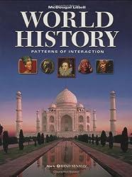World History: Patterns of Interaction: Atlas by Rand McNally